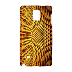 Patterned Wallpapers Samsung Galaxy Note 4 Hardshell Case by Simbadda