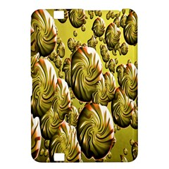Melting Gold Drops Brighten Version Abstract Pattern Revised Edition Kindle Fire Hd 8 9  by Simbadda