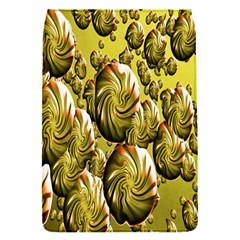 Melting Gold Drops Brighten Version Abstract Pattern Revised Edition Flap Covers (s)  by Simbadda