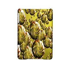 Melting Gold Drops Brighten Version Abstract Pattern Revised Edition Ipad Mini 2 Hardshell Cases by Simbadda