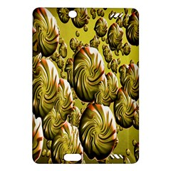 Melting Gold Drops Brighten Version Abstract Pattern Revised Edition Amazon Kindle Fire Hd (2013) Hardshell Case by Simbadda