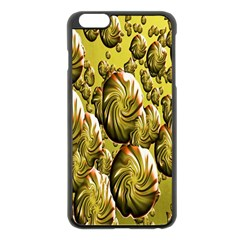 Melting Gold Drops Brighten Version Abstract Pattern Revised Edition Apple Iphone 6 Plus/6s Plus Black Enamel Case by Simbadda