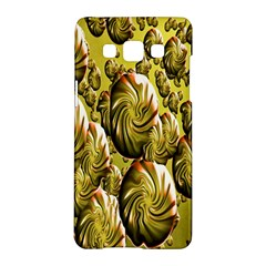 Melting Gold Drops Brighten Version Abstract Pattern Revised Edition Samsung Galaxy A5 Hardshell Case  by Simbadda