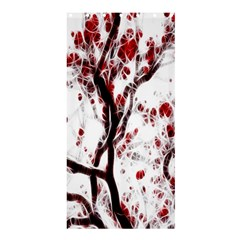 Tree Art Artistic Abstract Background Shower Curtain 36  X 72  (stall)  by Simbadda