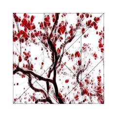 Tree Art Artistic Abstract Background Acrylic Tangram Puzzle (6  X 6 ) by Simbadda