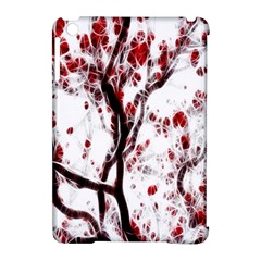 Tree Art Artistic Abstract Background Apple Ipad Mini Hardshell Case (compatible With Smart Cover) by Simbadda