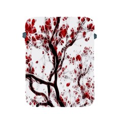Tree Art Artistic Abstract Background Apple Ipad 2/3/4 Protective Soft Cases by Simbadda