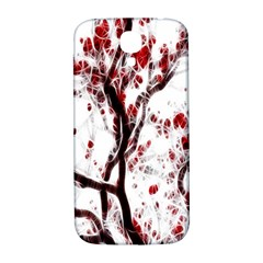 Tree Art Artistic Abstract Background Samsung Galaxy S4 I9500/i9505  Hardshell Back Case by Simbadda