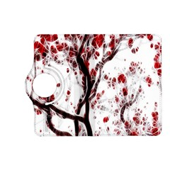 Tree Art Artistic Abstract Background Kindle Fire Hd (2013) Flip 360 Case by Simbadda