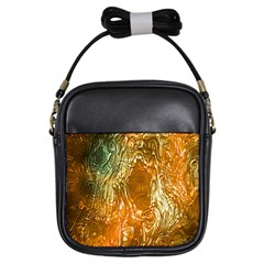 Light Effect Abstract Background Wallpaper Girls Sling Bags by Simbadda