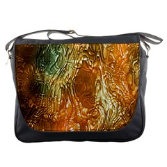 Light Effect Abstract Background Wallpaper Messenger Bags by Simbadda