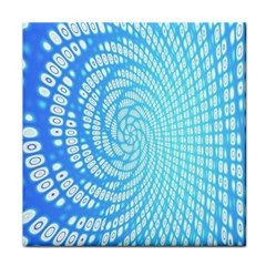 Abstract Pattern Neon Glow Background Tile Coasters by Simbadda