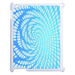 Abstract Pattern Neon Glow Background Apple Ipad 2 Case (white) by Simbadda