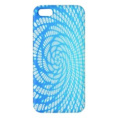 Abstract Pattern Neon Glow Background Iphone 5s/ Se Premium Hardshell Case by Simbadda