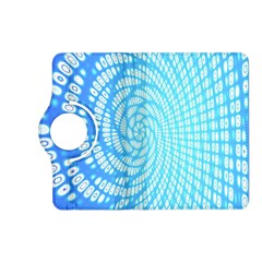 Abstract Pattern Neon Glow Background Kindle Fire Hd (2013) Flip 360 Case by Simbadda