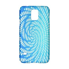Abstract Pattern Neon Glow Background Samsung Galaxy S5 Hardshell Case  by Simbadda