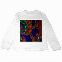 Recurring Circles In Shape Of Amphitheatre Kids Long Sleeve T Shirts by Simbadda