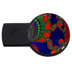Recurring Circles In Shape Of Amphitheatre Usb Flash Drive Round (4 Gb) by Simbadda