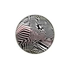 Abstract Fauna Pattern When Zebra And Giraffe Melt Together Hat Clip Ball Marker (10 Pack) by Simbadda