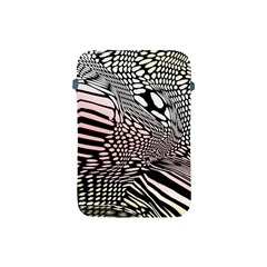 Abstract Fauna Pattern When Zebra And Giraffe Melt Together Apple Ipad Mini Protective Soft Cases by Simbadda