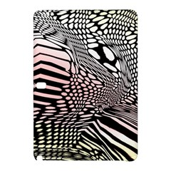 Abstract Fauna Pattern When Zebra And Giraffe Melt Together Samsung Galaxy Tab Pro 12 2 Hardshell Case by Simbadda