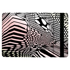 Abstract Fauna Pattern When Zebra And Giraffe Melt Together Ipad Air Flip by Simbadda