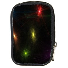 Star Lights Abstract Colourful Star Light Background Compact Camera Cases by Simbadda
