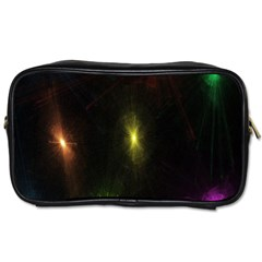 Star Lights Abstract Colourful Star Light Background Toiletries Bags 2 Side by Simbadda