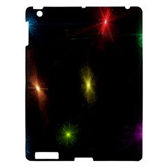 Star Lights Abstract Colourful Star Light Background Apple Ipad 3/4 Hardshell Case by Simbadda