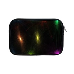 Star Lights Abstract Colourful Star Light Background Apple Ipad Mini Zipper Cases by Simbadda