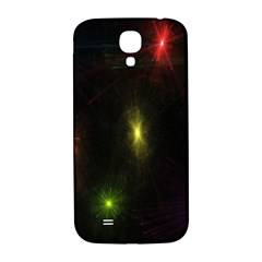 Star Lights Abstract Colourful Star Light Background Samsung Galaxy S4 I9500/i9505  Hardshell Back Case by Simbadda