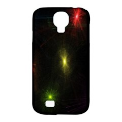 Star Lights Abstract Colourful Star Light Background Samsung Galaxy S4 Classic Hardshell Case (pc+silicone) by Simbadda