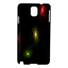 Star Lights Abstract Colourful Star Light Background Samsung Galaxy Note 3 N9005 Hardshell Case by Simbadda