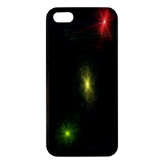 Star Lights Abstract Colourful Star Light Background Iphone 5s/ Se Premium Hardshell Case by Simbadda