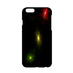 Star Lights Abstract Colourful Star Light Background Apple Iphone 6/6s Hardshell Case by Simbadda