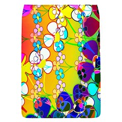 Abstract Flowers Design Flap Covers (s)  by Simbadda