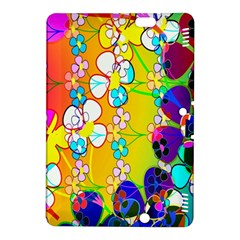 Abstract Flowers Design Kindle Fire Hdx 8 9  Hardshell Case by Simbadda