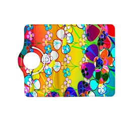 Abstract Flowers Design Kindle Fire Hd (2013) Flip 360 Case by Simbadda