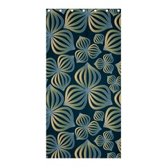 Gradient Flowers Abstract Background Shower Curtain 36  X 72  (stall)  by Simbadda