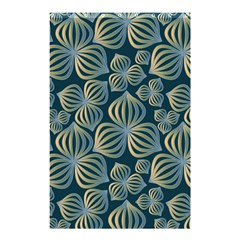 Gradient Flowers Abstract Background Shower Curtain 48  X 72  (small)  by Simbadda