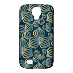 Gradient Flowers Abstract Background Samsung Galaxy S4 Classic Hardshell Case (pc+silicone) by Simbadda