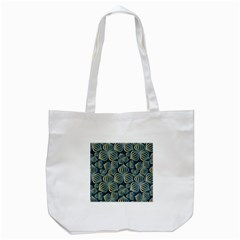 Gradient Flowers Abstract Background Tote Bag (white) by Simbadda