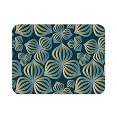 Gradient Flowers Abstract Background Double Sided Flano Blanket (mini)  by Simbadda