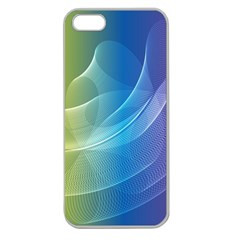 Colorful Guilloche Spiral Pattern Background Apple Seamless Iphone 5 Case (clear) by Simbadda
