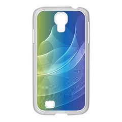 Colorful Guilloche Spiral Pattern Background Samsung Galaxy S4 I9500/ I9505 Case (white) by Simbadda