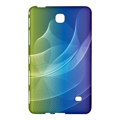 Colorful Guilloche Spiral Pattern Background Samsung Galaxy Tab 4 (7 ) Hardshell Case  by Simbadda