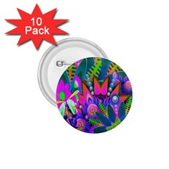 Wild Abstract Design 1 75  Buttons (10 Pack) by Simbadda