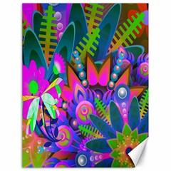 Wild Abstract Design Canvas 18  X 24   by Simbadda