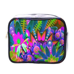 Wild Abstract Design Mini Toiletries Bags by Simbadda