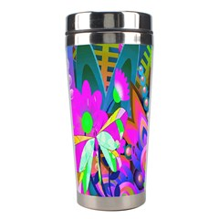 Wild Abstract Design Stainless Steel Travel Tumblers by Simbadda